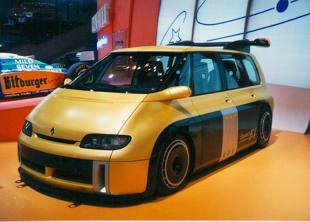 Megane Renault F1 Team Espace